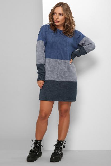 . Платье 179. Цвет: синий