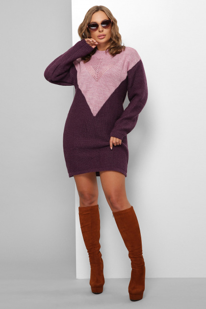 . Платье 181. Цвет: сирень-фиолетовый