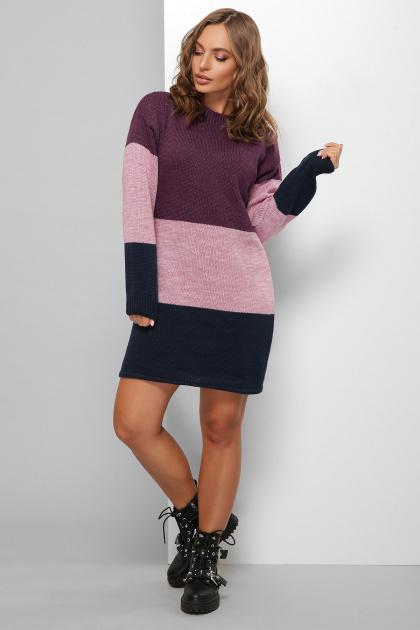 . Платье 179. Цвет: фиолетовый