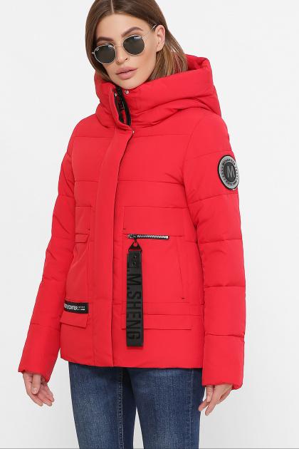 . Куртка М-2081. Цвет: 19-красный
