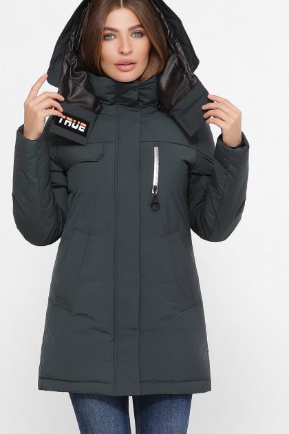 . Куртка М-2082. Цвет: 13-изумруд