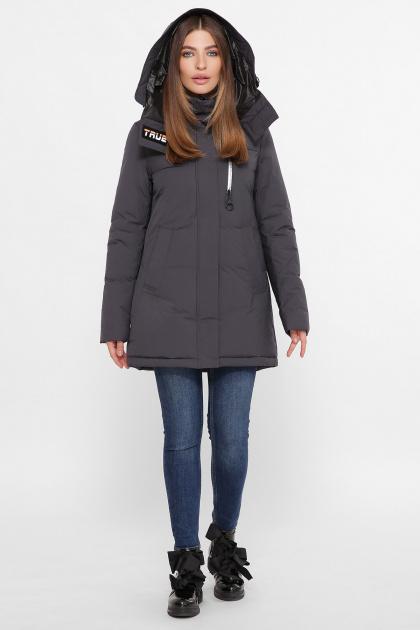 . Куртка М-2082. Цвет: 28-т.серый