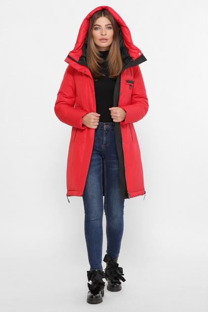 . Куртка М-2091. Цвет: 19-красный