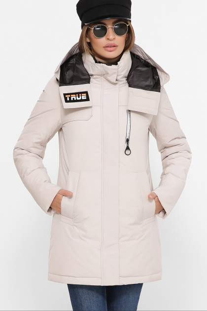 . Куртка М-2082. Цвет: 09-св.бежевый