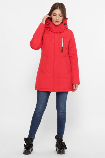 . Куртка М-2082. Цвет: 19-красный