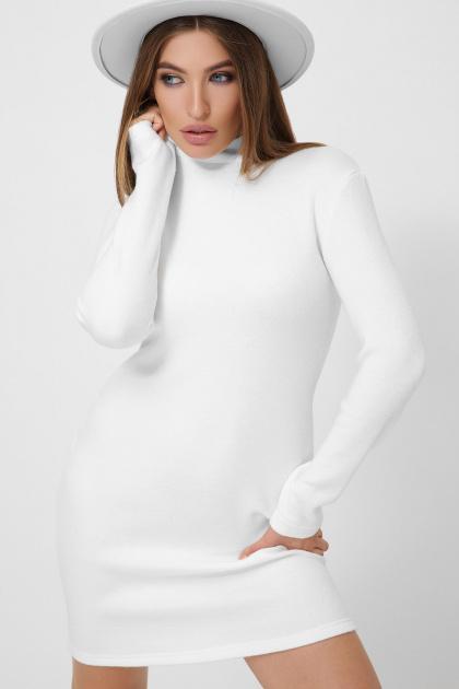 . платье-гольф Алена1 д/р. Цвет: белый