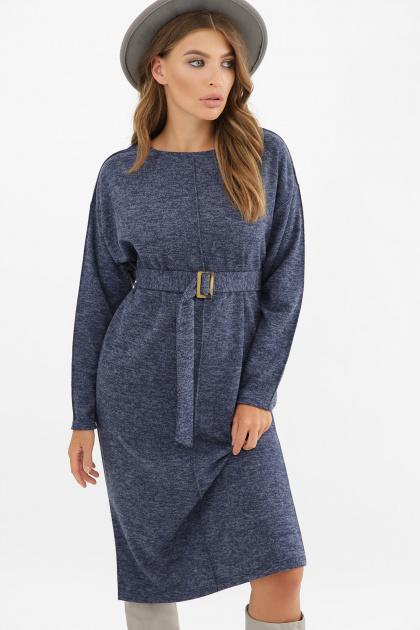 . платье Беата д/р. Цвет: синий