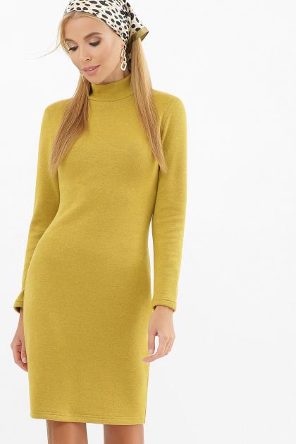 . платье-гольф Алена1 д/р. Цвет: горчица