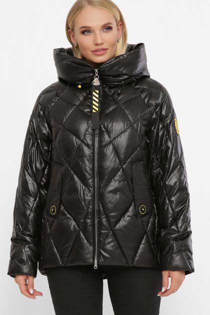 . Куртка 2120. Цвет: 01-черный-желтый