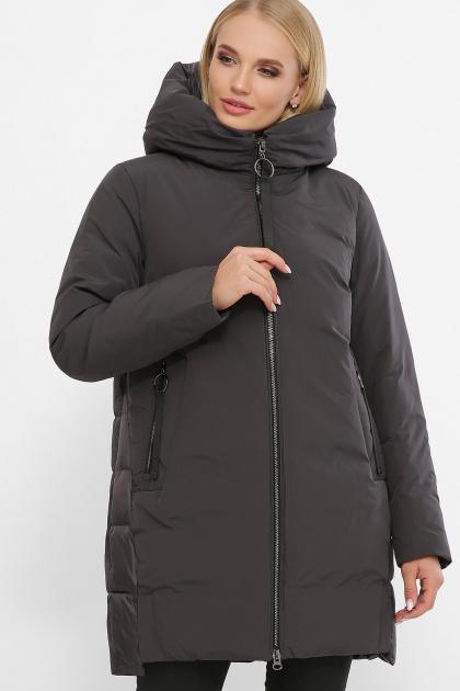 . Куртка 2163. Цвет: 29-т.серый