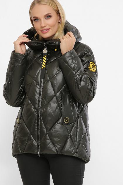 . Куртка 2120. Цвет: 13-т.хаки-желтый