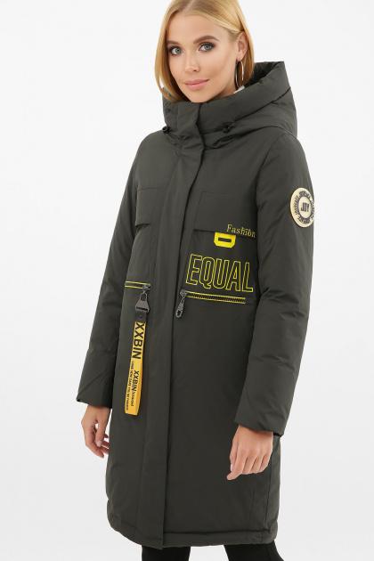 . Куртка 297. Цвет: 13-серо-зеленый-желт