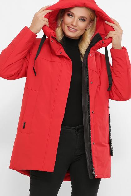 . Куртка 20141. Цвет: 19-красный