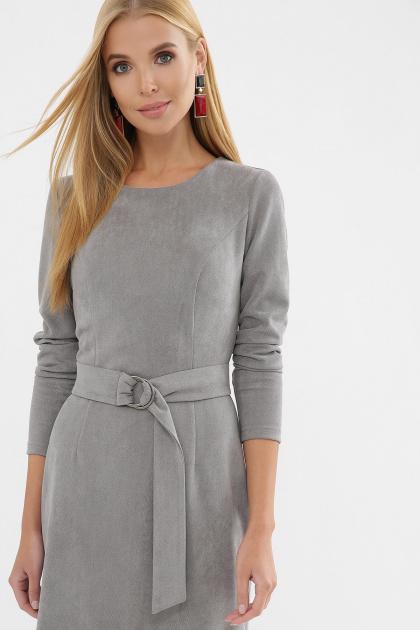 . Платье Гелия д/р. Цвет: серый