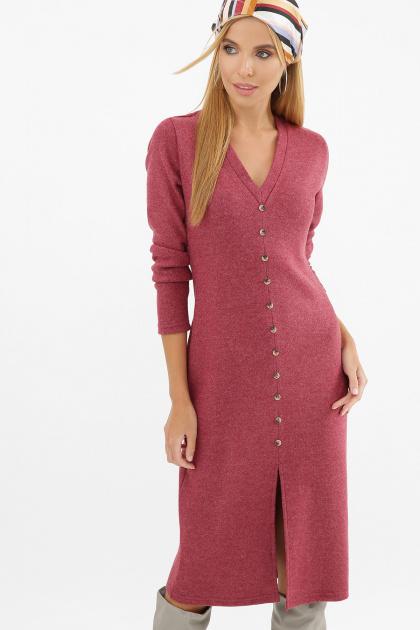 . Платье Альвия д/р. Цвет: бордо