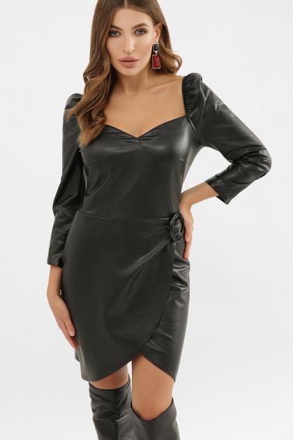 . Платье Разия д/р. Цвет: черный