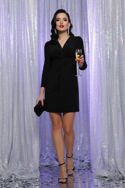 короткое платье с люрексом. платье Нила 3/4. Цвет: черный-черный