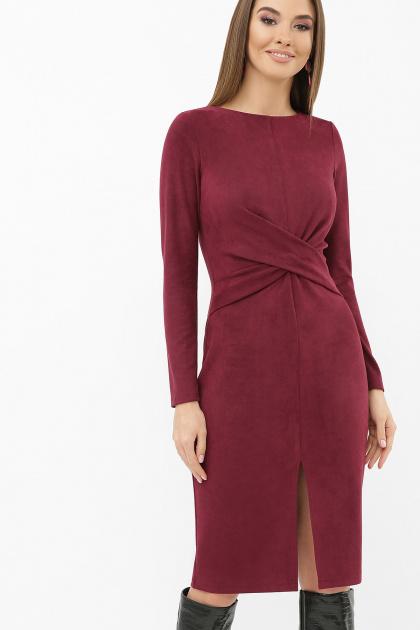 . платье Этери д/р. Цвет: бордо