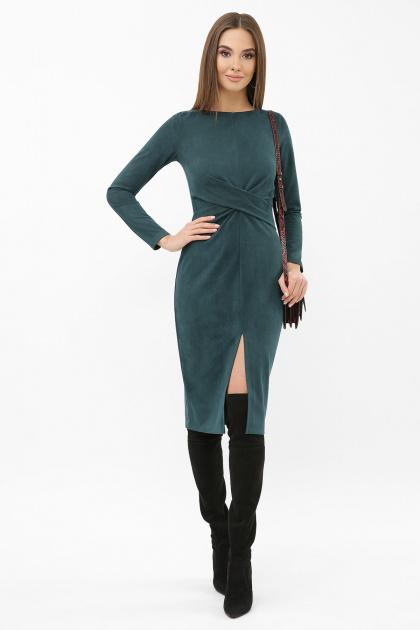 . платье Этери д/р. Цвет: изумруд