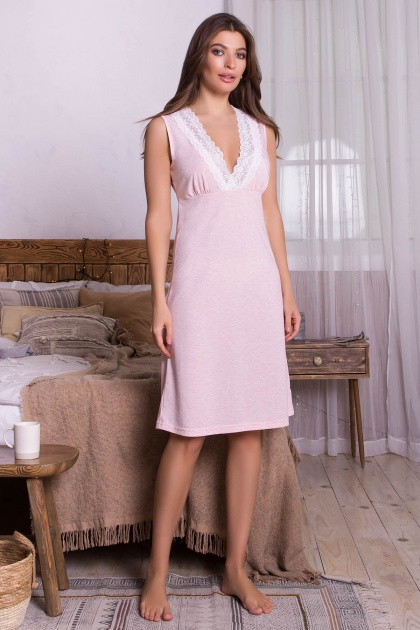 . Сорочка Нидия б/р. Колір: розовый