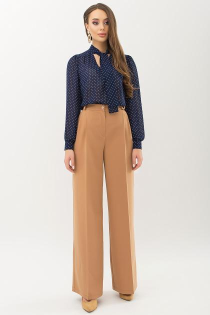 серая блузка в горошек. Блуза Аза д/р. Цвет: т.синий-белый м. горох