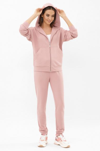 розовый костюм для прогулок. Костюм Фая. Цвет: пыльная роза