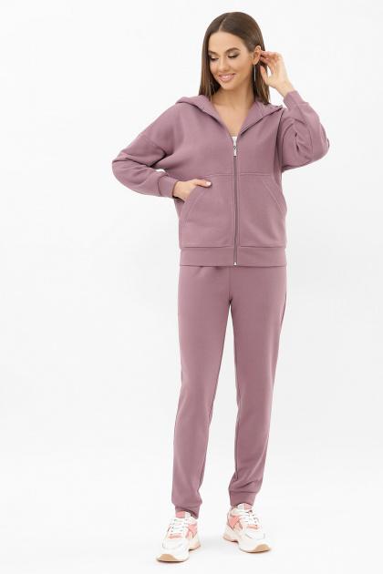 розовый костюм для прогулок. Костюм Фая. Цвет: т. лиловый