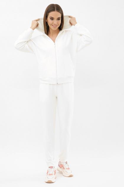 черный спортивный костюм. Костюм Фая. Цвет: молоко