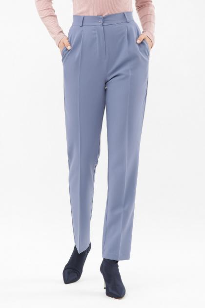 женские брюки цвета фуксии. Брюки Мирей. Цвет: джинс