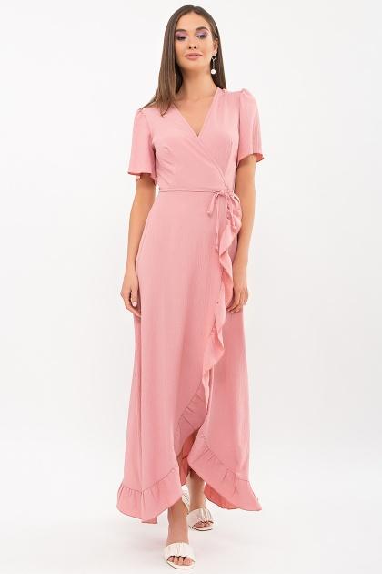 . Платье Румия-1 к/р. Цвет: розовый персик