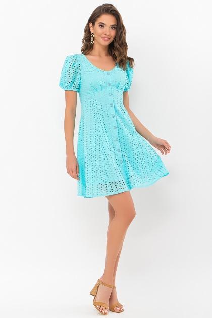 . Платье Эдна к/р. Цвет: бирюзовый