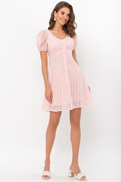 . Платье Эдна к/р. Цвет: персик