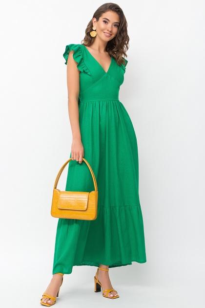 . Сарафан Одилия. Цвет: зеленый