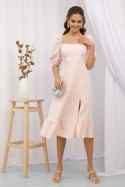 . Платье Коста-Л к/р. Цвет: пудра