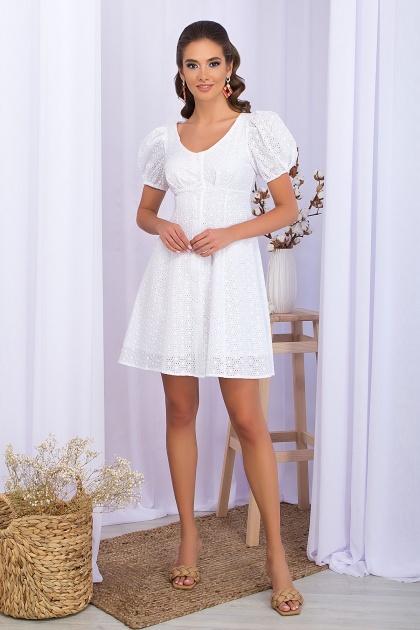 . Платье Эдна к/р. Цвет: белый 1