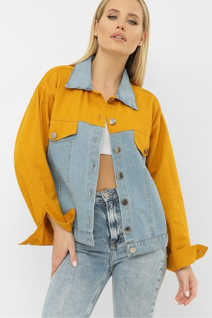 . 106 Куртка VE. Цвет: горчица