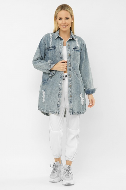 . 107 AST Куртка VА. Цвет: джинс
