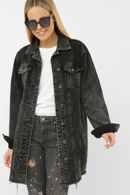 . 20104R Куртка VO-D. Цвет: серый