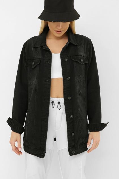 . 20158 Куртка VO-D. Цвет: черный 1