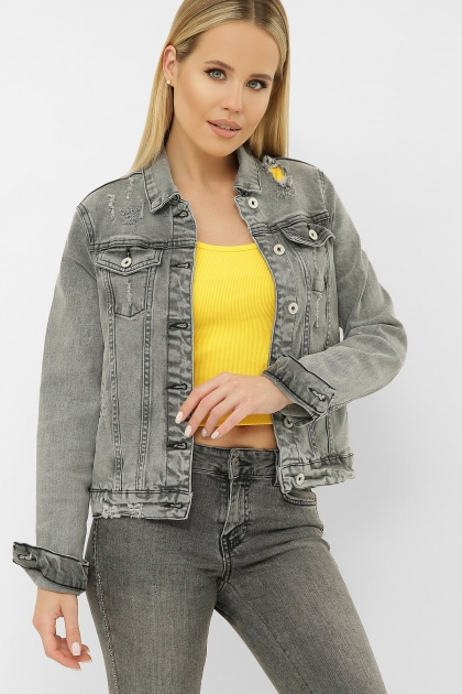 . 2085 Куртка VO-D. Цвет: св. серый 1