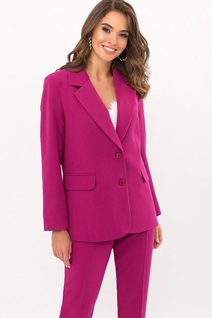 офисный пиджак цвета фуксии. Пиджак Сабера д/р. Цвет: фуксия