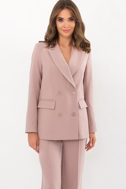 черный деловой пиджак. Пиджак Элейн д/р. Цвет: св.лиловый