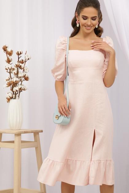 . Платье Коста-Л к/р. Цвет: пудра купить