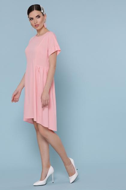 оливковое платье с коротким рукавом. Платье Вилена к/р. Цвет: персик купить
