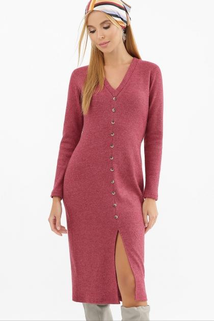 . Платье Альвия д/р. Цвет: бордо купить