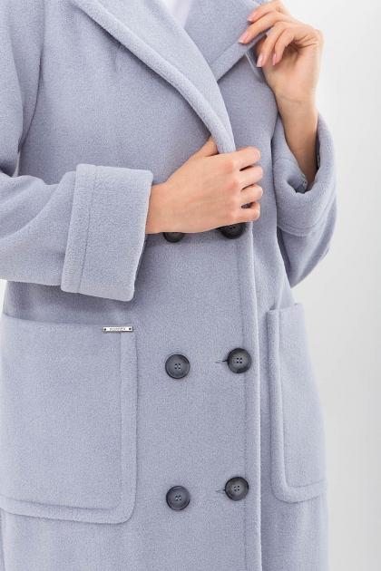 . Пальто П-347-100. Цвет: 2903-серо-голубой в Украине