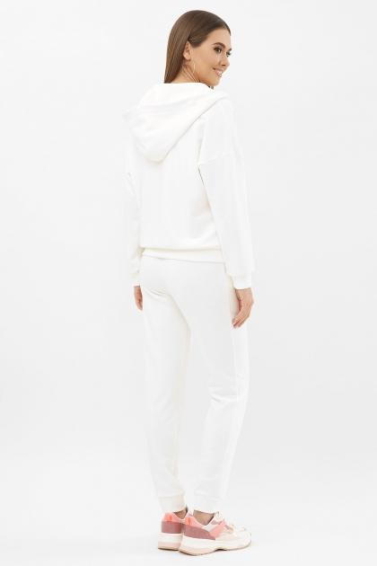 черный спортивный костюм. Костюм Фая. Цвет: молоко цена