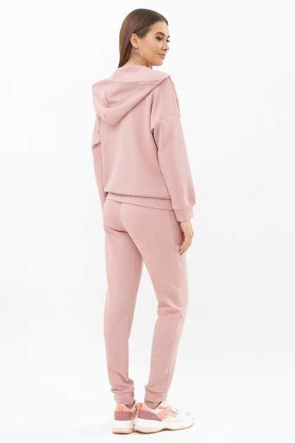 розовый костюм для прогулок. Костюм Фая. Цвет: пыльная роза цена