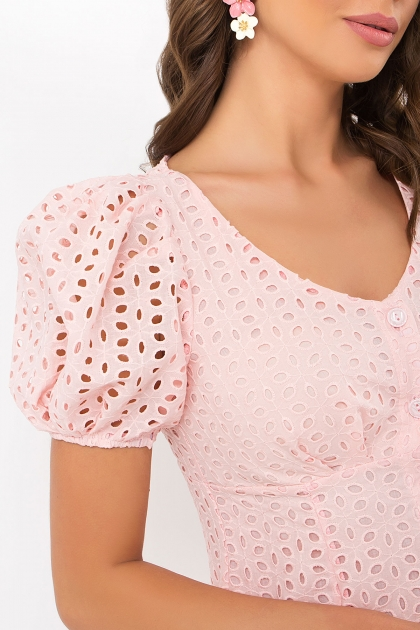 . Платье Эдна к/р. Цвет: персик в интернет-магазине