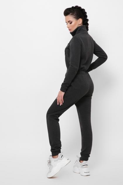 темно-серый женский комбинезон. Комбинезон Дилси д/р. Цвет: темно серый в интернет-магазине